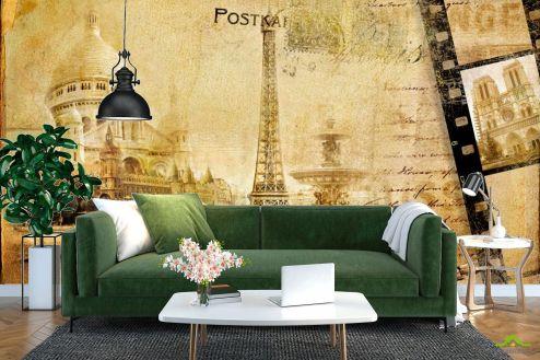 Винтажный Город Фотообои Париж, марка