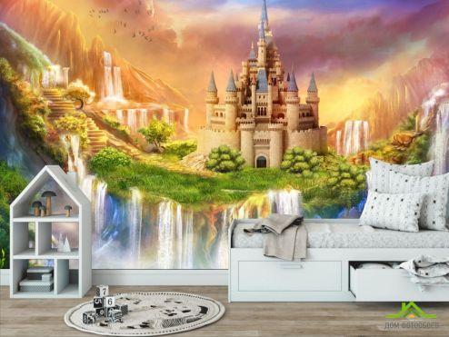 по выгодной цене Фотообои Сказочный замок