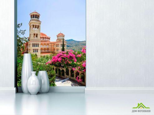 обои Город Фотообои Дворец в Греции