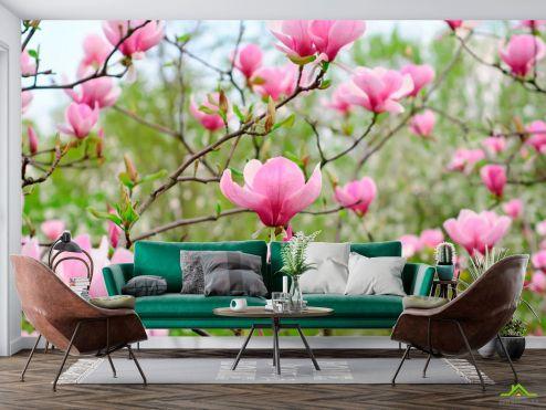 Фотообои Кипарис по выгодной цене Фотообои Бледно-розовый кипарис
