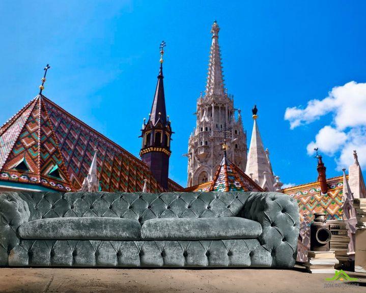 Фотообои Церковный замок