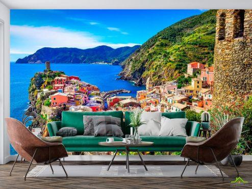 Италия Фотообои Чинкве Терре, Италия