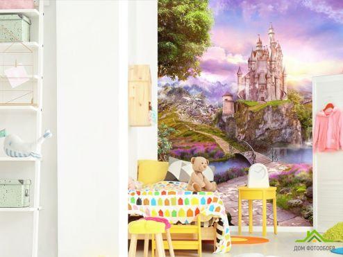 обои в детскую Фотообои Замок
