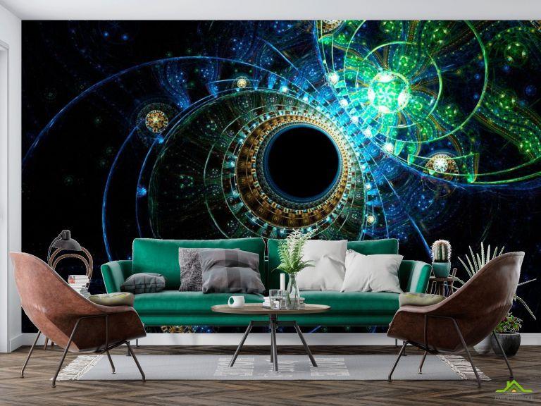 Фотообои Узоры планет