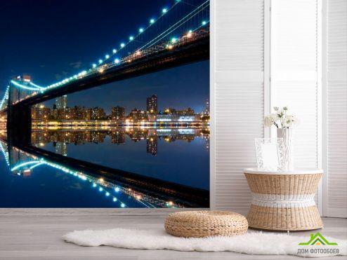 Мосты Фотообои Вид под мостом