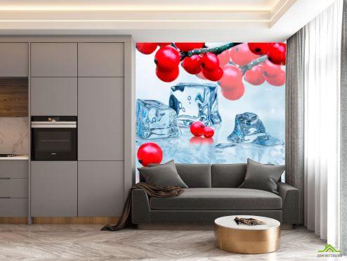 Фотообои на кухню по выгодной цене Фотообои в кухню Цветы