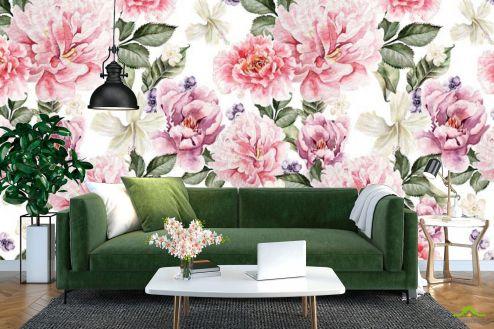 Прованс Фотообои Цветы в стиле прованс