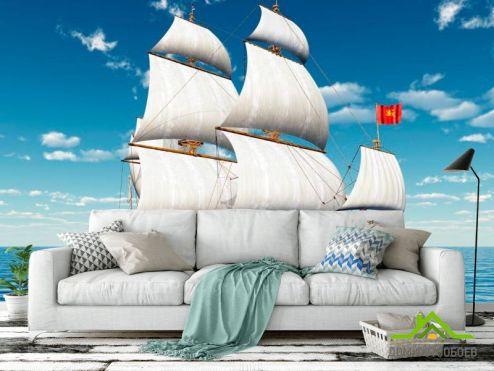 Корабли Фотообои Галеон