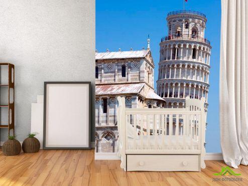 Фотообои Архитектура по выгодной цене Фотообои Пизанская башня