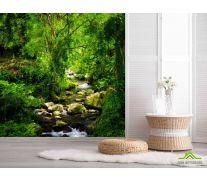 Фотообои речка в лесу