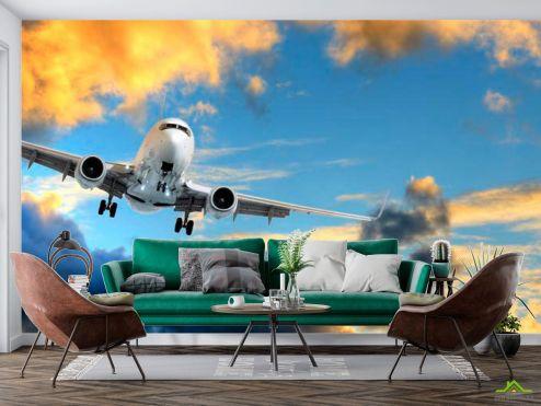 Самолеты Фотообои Самолет в небе
