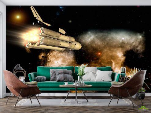 Космос Фотообои Шатл в космосе