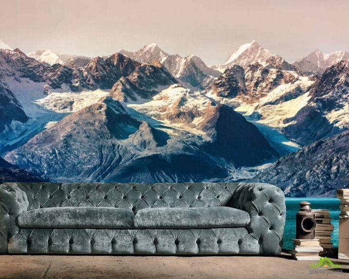 Фотообои Пейзажные горы