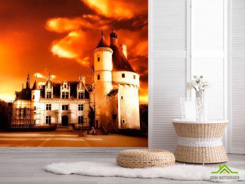 обои Замок Фотообои Реставрация замка