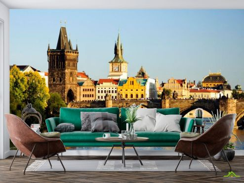 Старый город Фотообои Прага, Карлов мост купить