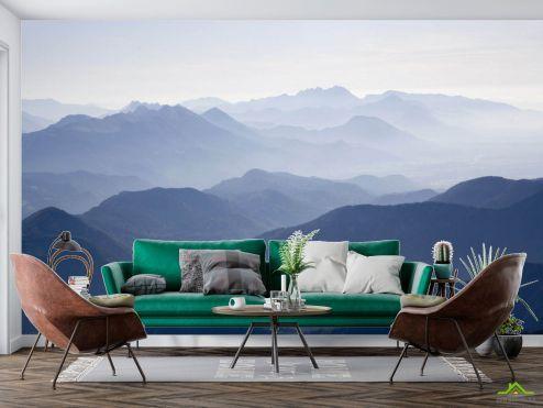 Фотообои Природа по выгодной цене Фотообои Туманные горы