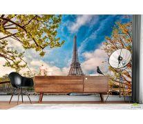 Фотообои Париж осенью