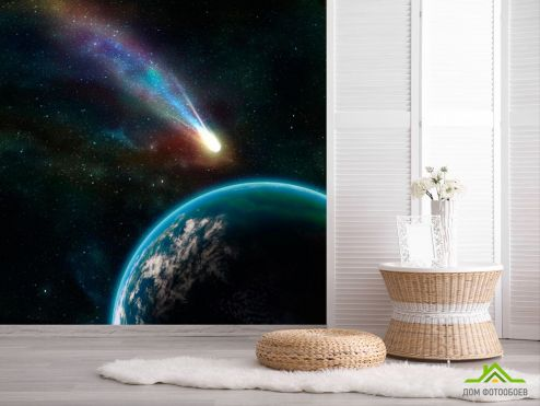 обои Космос Фотообои Комета
