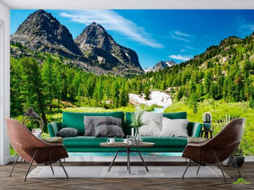Фотообои Природа по выгодной цене Фотообои Гора, простор
