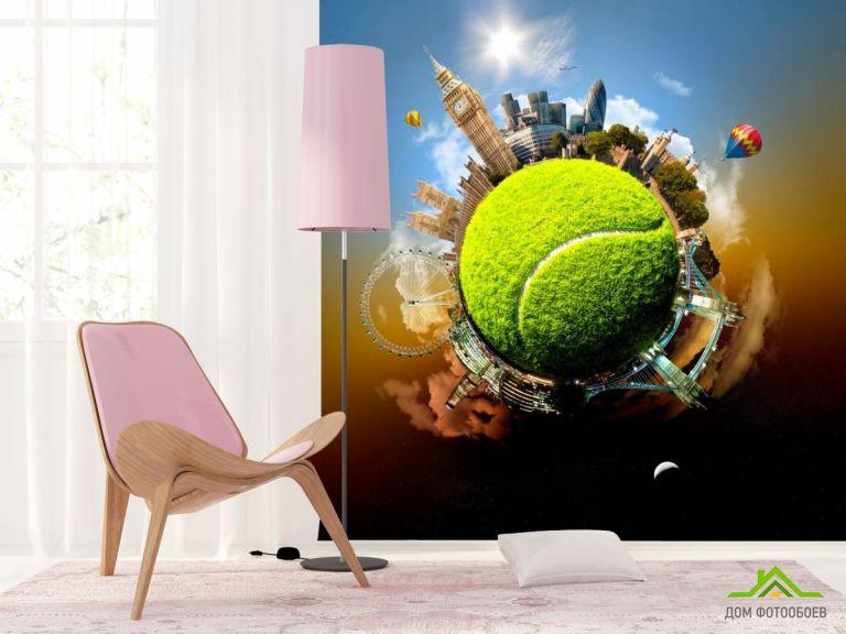 Фотообои Мировой теннис