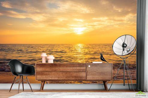 Фотообои Море по выгодной цене Фотообои Солнце отражается в море
