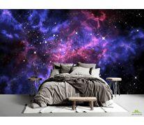Фотообои сияние звёзд в космосе