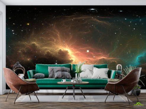 Космос Фотообои Звёзды в небе