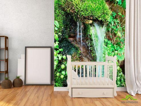 Водопад Фотообои Маленький ручей купить