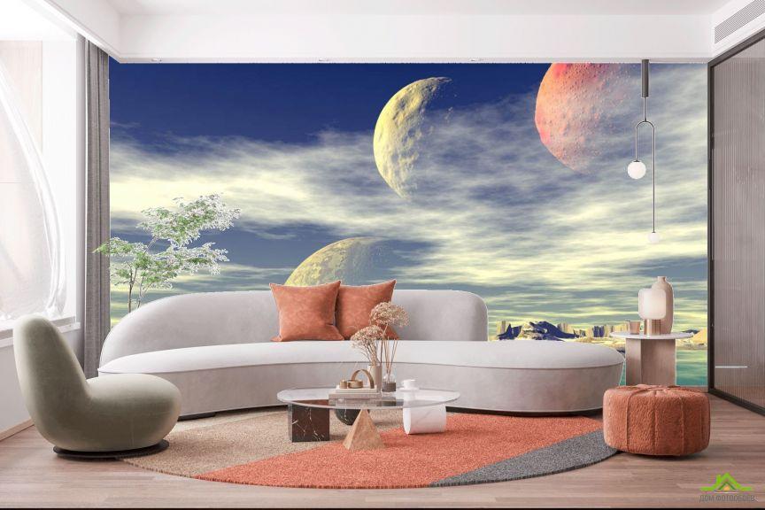 Фотообои Космическая поверхность