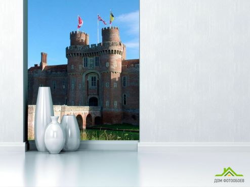 обои Архитектура Фотообои Замок в Америке
