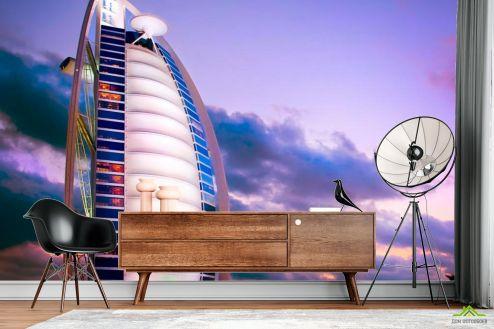 Фотообои Архитектура по выгодной цене Фотообои Отель парус, Дубаи