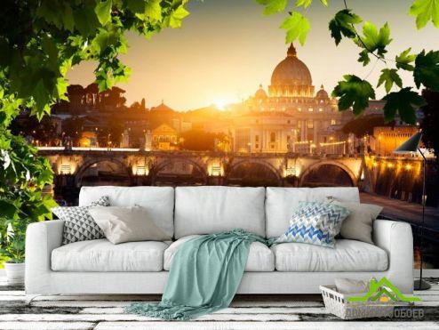 обои Старый город Фотообои Ватикан, Рим