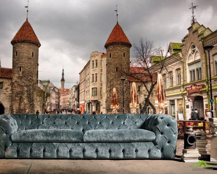 Фотообои Улица в Таллине, Эстония