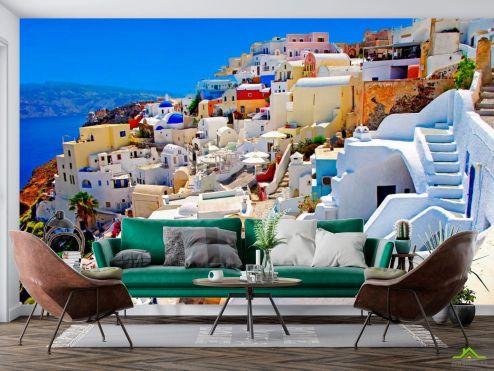 Греция Фотообои о. Санторини, Греция