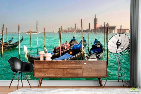 Венеция Фотообои Гондолы, Венеция