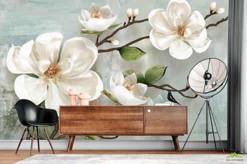 Фотообои Цветы по выгодной цене Фотообои Цветочная ветка