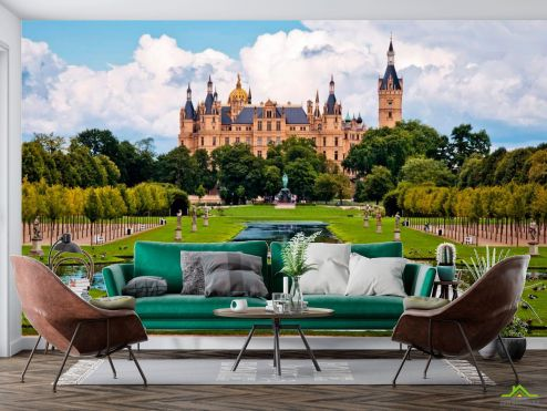Архитектура Фотообои Швейцарский замок