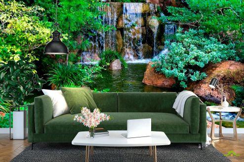 Водопад Фотообои Водопад, ручей купить