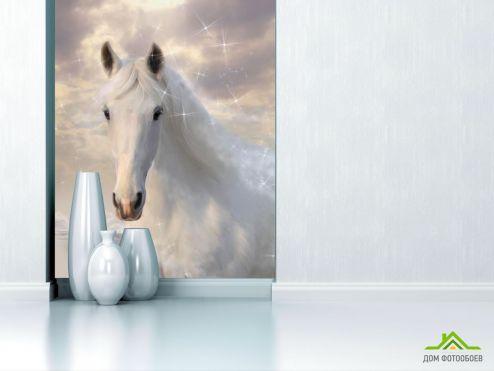 Лошади Фотообои Белоснежная красавица