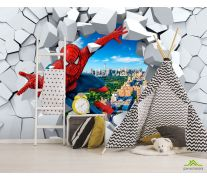 Фотообои Человек паук 3Д