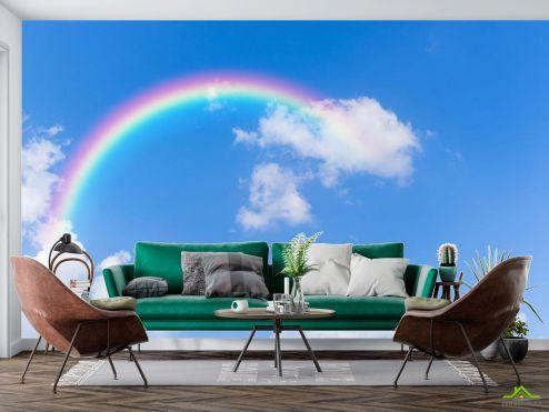 Природа Фотообои радуга