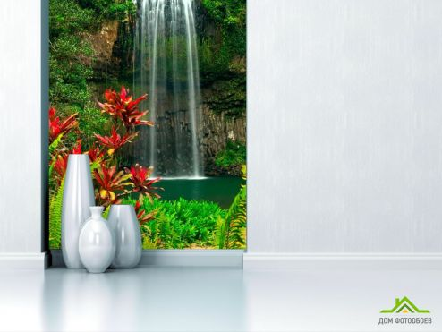 обои Природа Фотообои Мелодия гор, цветы