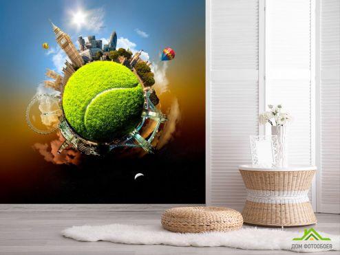 обои Спорт Фотообои Мировой теннис