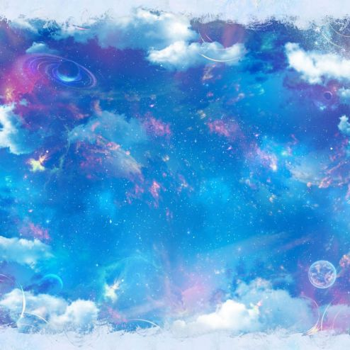 на потолок Фотообои Звёздное небо на потолок