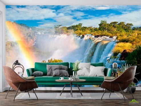 Фотообои Природа по выгодной цене Фотообои Бурлящийводопад