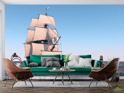 Корабли Фотообои Корабль на мели