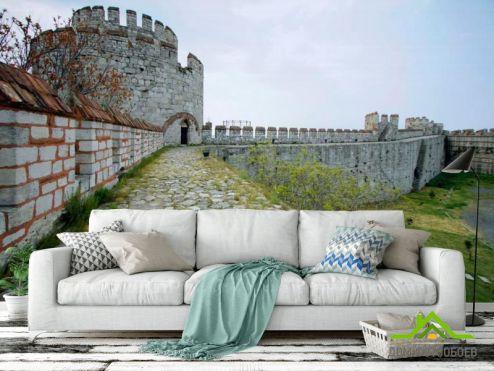 обои Архитектура Фотообои Заброшенный замок
