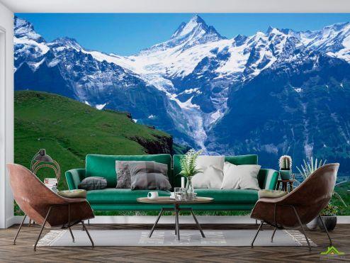 Фотообои Природа по выгодной цене Фотообои Снег, горы