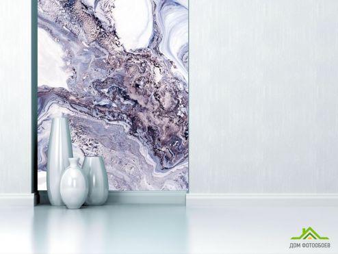 Fluid art Фотообои Фиолетовый флюид