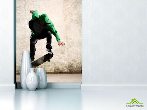 обои Спорт Фотообои Скейтбордист